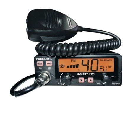 President, Barry, Mobile CB radio