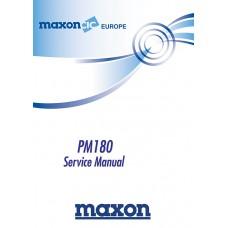 Maxon PM180 Service Manual