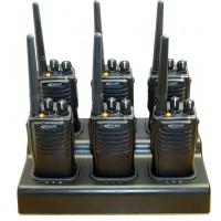 Kirisun PT7200 UHF Man-Down Radios x 6
