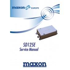 Maxon SD125 Data Module Service Manual