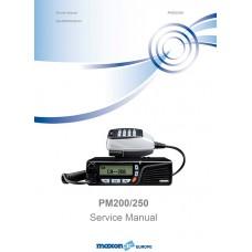 Maxon PM200 Service Manual