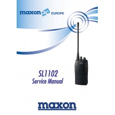 Maxon SL1102 Service Manual